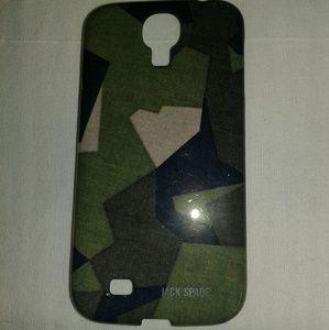 Jack Spade Samsung galaxy S4 phone case